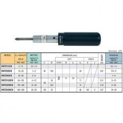 TOHNICHI  RNTD Series - Preset Torque Screwdrivers with Slip Clutch