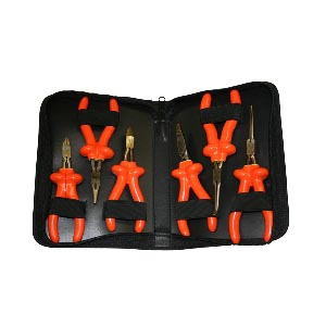 Insulated Plier & Cutter Set - 7 Piece