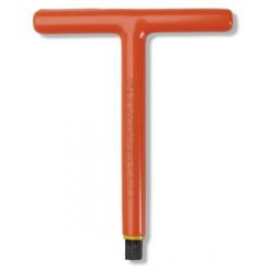 CEMENTEX Long 9 in. Insulated 'T' Handle Hex Wrenches - Fractional