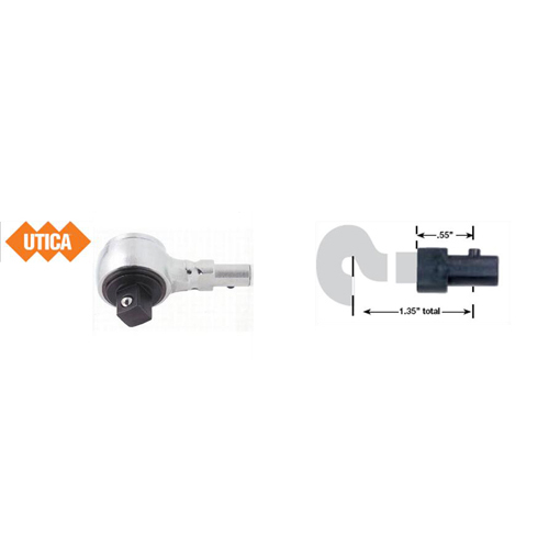 UTICA Ratchet Head & Blank Adapters for 'A' & 'B' Series